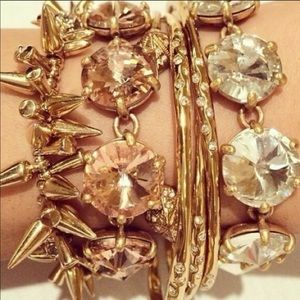 Stella & Dot- Amelie bracelet peach